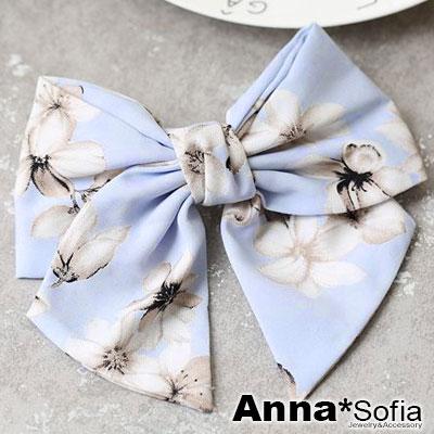 AnnaSofia-軟糖大蝶結-純手工髮夾-花樣淺