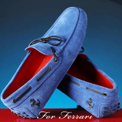 TOD S for Ferrari 法拉利聯名豆豆鞋 任選一件只要$13500