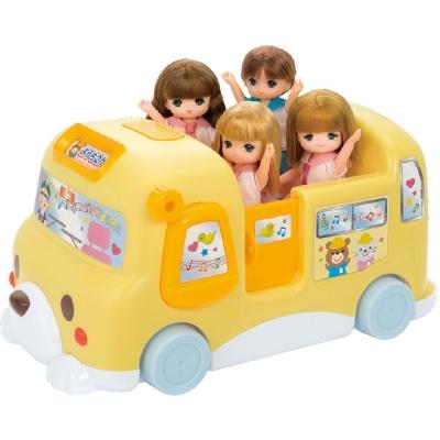 TAKARA-TOMY-莉卡配件-歡樂音樂娃娃車