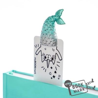 禮物myBookmark手工書籤-喜愛人類書籍的人魚獸