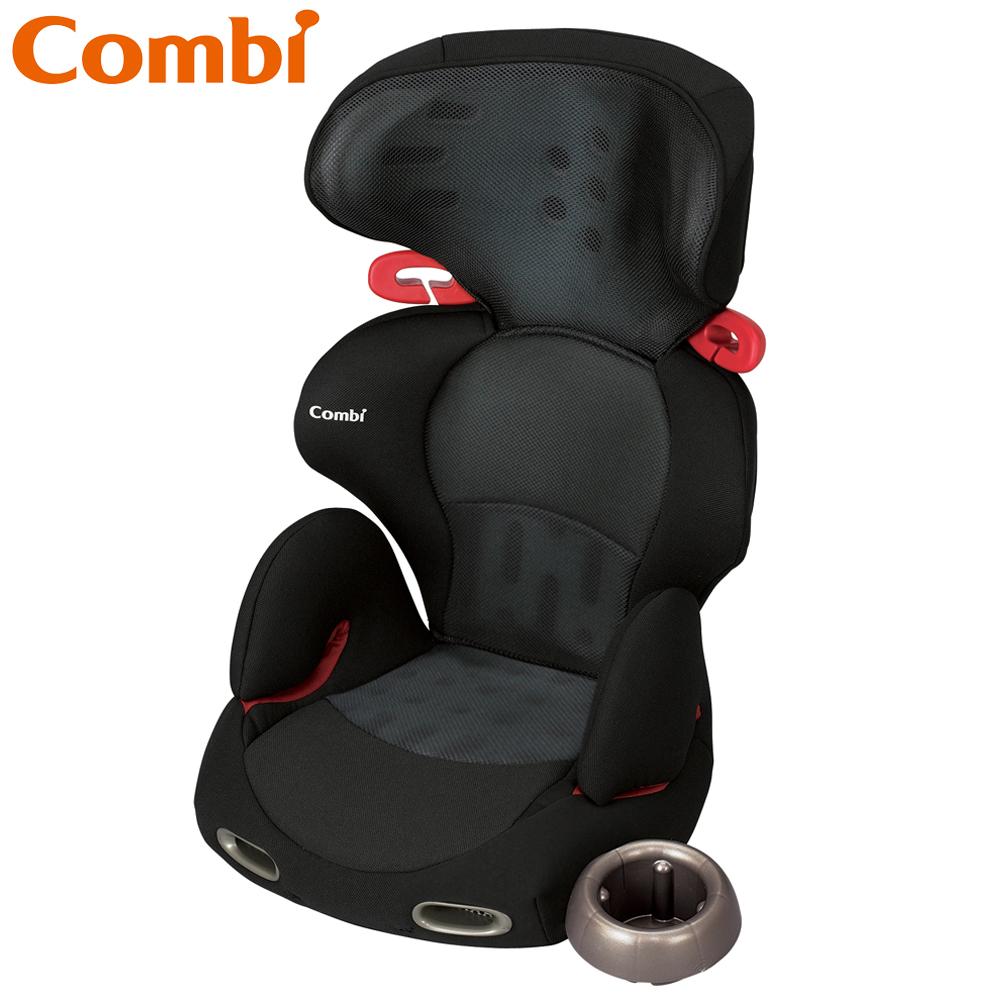 【Combi 康貝】New Buon Junior 多功能成長型安全座椅(網眼黑)