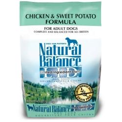 Natural Balance 低敏無榖地瓜雞肉 成犬(原顆粒) 4.5磅