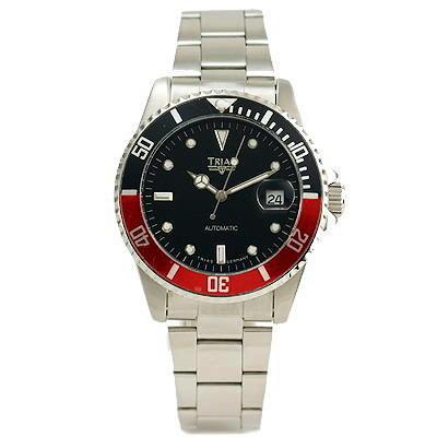 Trias-德國機械錶-紅-黑