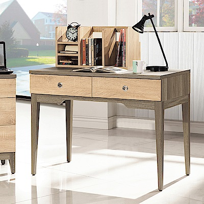 Bernice-斯頓3.3尺二抽書桌-101x60x79cm