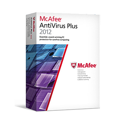 McAfee AntiVirus Plus 2012 個人標準版(一人三年盒裝繁體中文版)