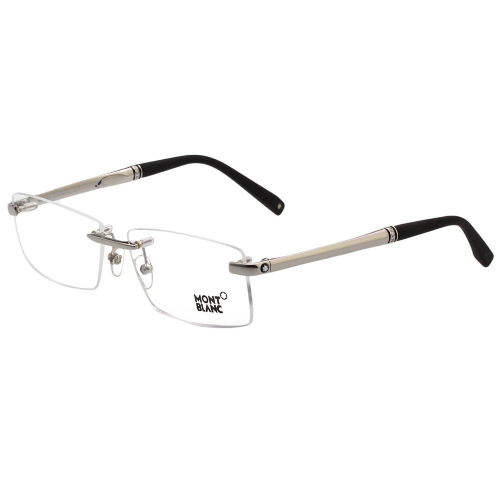 萬寶龍MONTBLANC 無框光學眼鏡 (銀色) MB452