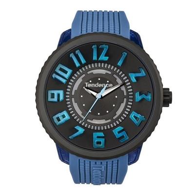 Tendence 天勢錶-炫光系列限量版-藍黑/50mm