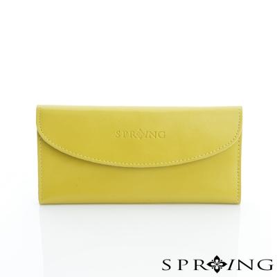 SPRING-極致簡約牛皮長夾