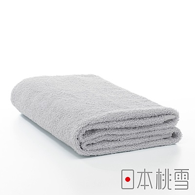 日本桃雪飯店浴巾(極簡灰)