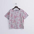 Hang Ten - 女裝 - 花卉印圖運動衫-粉紅色