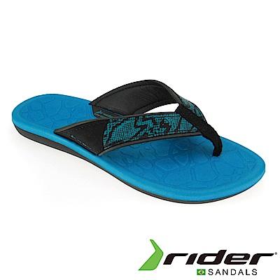 Rider 巴西 女 CLOUD IV 流行夾腳鞋(黑藍)
