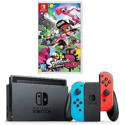 任天堂Nintendo Switch-電光藍/紅 Joy-Con(漆彈大作戰)