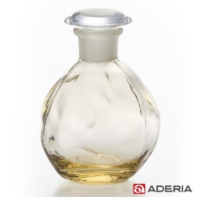 ADERIA 日本進口圓形玻璃調味罐100ml(黃)
