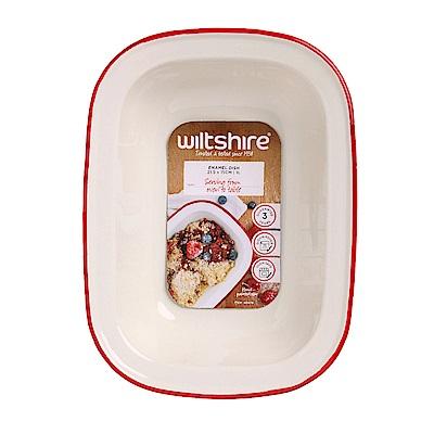澳洲 WILTSHIRE 手工方形烤盤1000ML-紅
