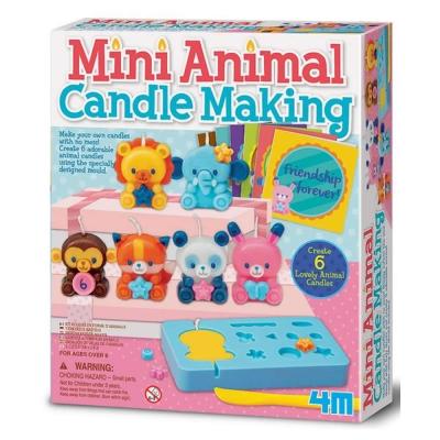 4M美勞創作 - 手作蠟燭動物園
