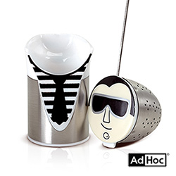 德國AdHoc 人物造型濾茶器 (COOLIO)
