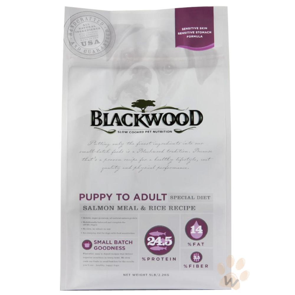 柏萊富blackwood 功能性全齡犬 腸胃保健配方(鮭魚+糙米)30磅