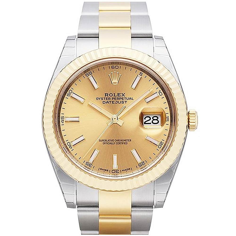 ROLEX 勞力士 Datejust 126333 蠔式金色面腕錶-41mm