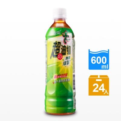 古道 超油切綠茶-新無糖(600mlx24瓶)