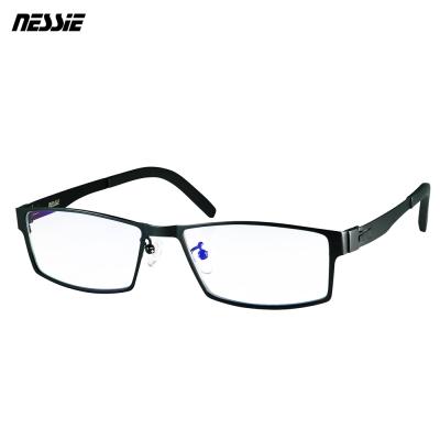 Nessie 尼斯 濾藍光眼鏡 薄鋼 紳士款