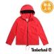 Timberland 女款紅色連帽抽繩防水休