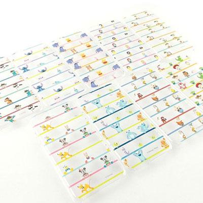 Disney iphone 6 /6s 彩繪橫條紋系列透明保護手機殼