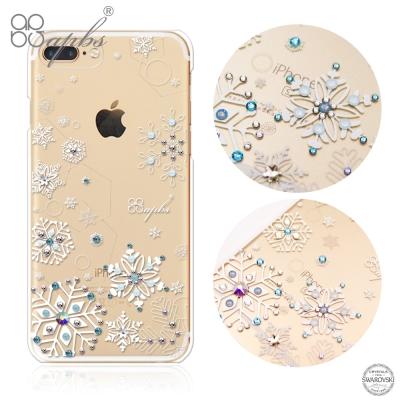 apbs iPhone8/7 Plus 5.5吋施華洛世奇彩鑽手機殼-紛飛雪