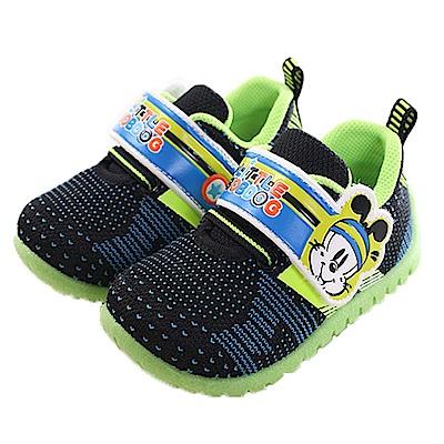 BOB DOG 魔鬼貼輕量舒適鞋 黑藍 sk0246 魔法Baby