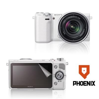 PHOENIX-SONY-NEX-5R-高流速-亮面-螢幕貼-二入