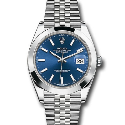 ROLEX 勞力士126300 Datejust  蠔式恆動紀念型錶帶腕錶藍面-41mm