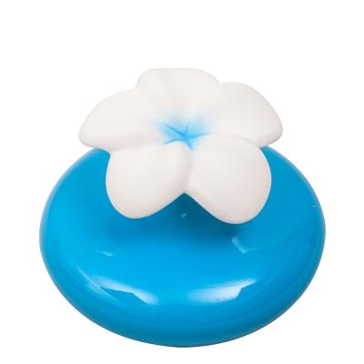 ThaiScent泰香 雞蛋花陶瓷擴香瓶-藍(不含擴香精)