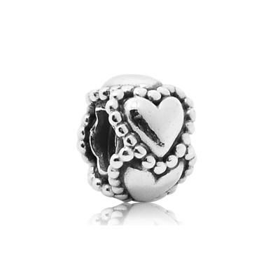 Pandora 潘朵拉 永恆心型環繞 純銀墜飾 串珠