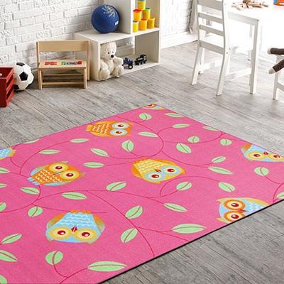 范登伯格 - 童話 進口地毯- (桃紅色) (小款-100x150cm)