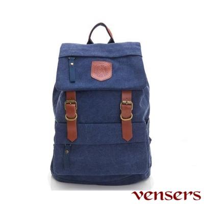 Venser 新潮流行包系列~後背包(D039301藍色)