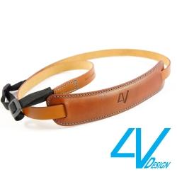 4V CLASSIC MEDIUM系列相機背帶CL-VV2330-BM-棕/青色(M)