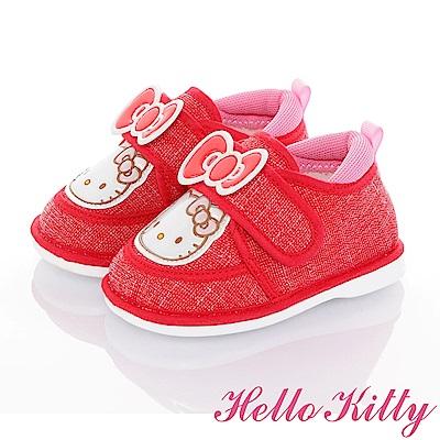 HelloKitty 輕量減壓寶寶學步嗶嗶童鞋-紅
