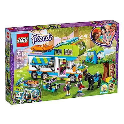 LEGO樂高 Friends系列 41339 米雅的露營車