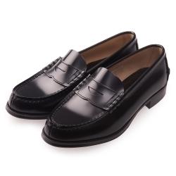 (女)日本 HARUTA 真皮平底素面皮鞋