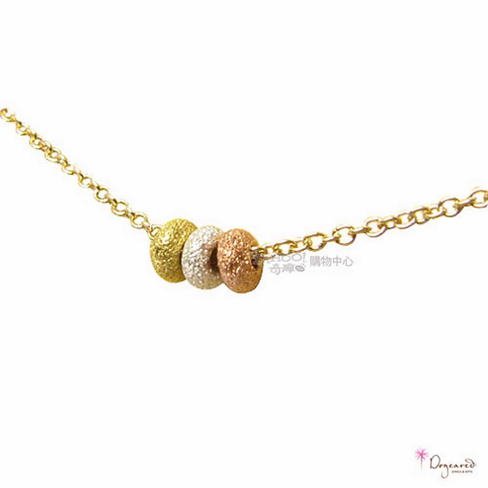 Dogeared 美國明星愛用3個願望-3色珠珠款