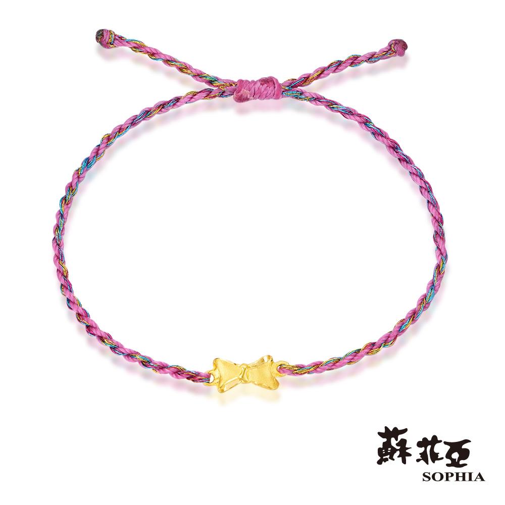 蘇菲亞SOPHIA - G LOVER系列禮物五色黃金手環