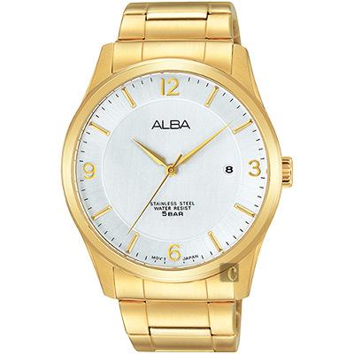 ALBA 時尚東京限定石英腕錶(AS9C16X1)-銀x金/40mm