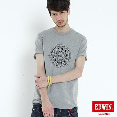 【EDWIN】503星作X新作*訂製星盤篇*男款 ( 淺灰)