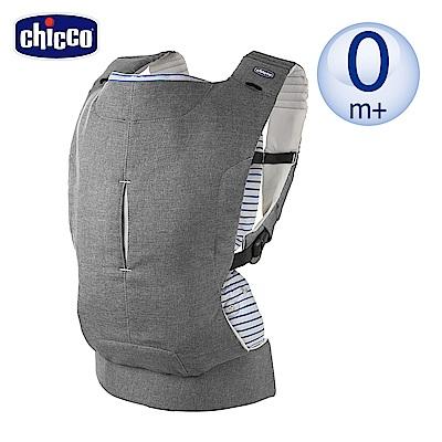 chicco-Myamaki三合一抱嬰袋-質灰/條紋藍