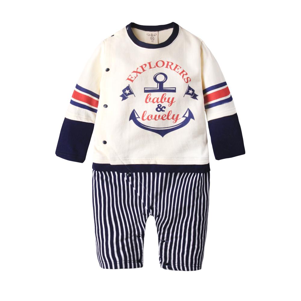baby童衣 嬰兒棒球裝連身衣 休閒假3件式包屁衣50453 product image 1