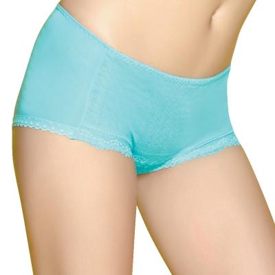 思薇爾 啵時尚系列中低腰平口褲(沁波藍)