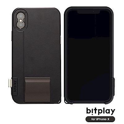 bitplay SNAP!X iPhoneX(5.8吋)專用一秒變單眼耐衝擊相機殼 質感黑