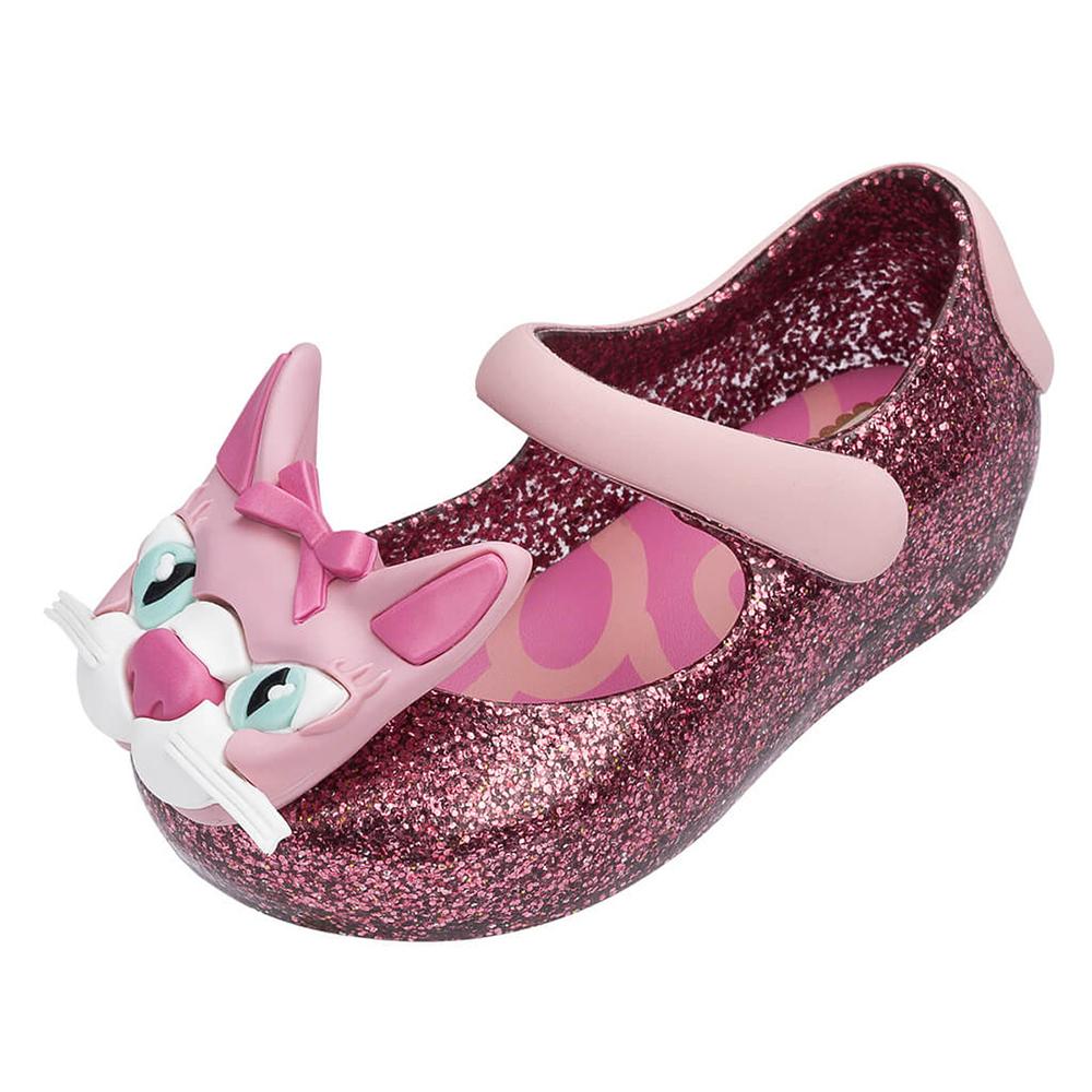 MINI MELISSA可愛花貓童鞋-燦紅