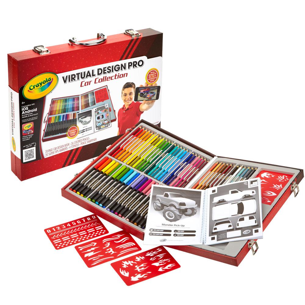美國crayola 3D魔法書-極速賽車(6Y+)