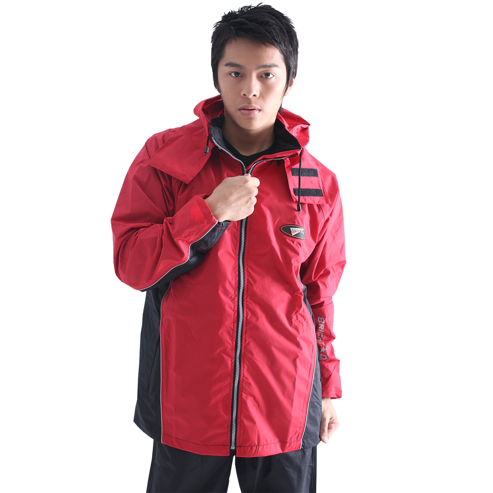 [快]BrightDay風雨衣兩件式 - 蜜絲絨休閒款