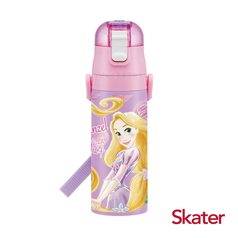 Skater不鏽鋼直飲保溫水壺(470ml)長髮公主